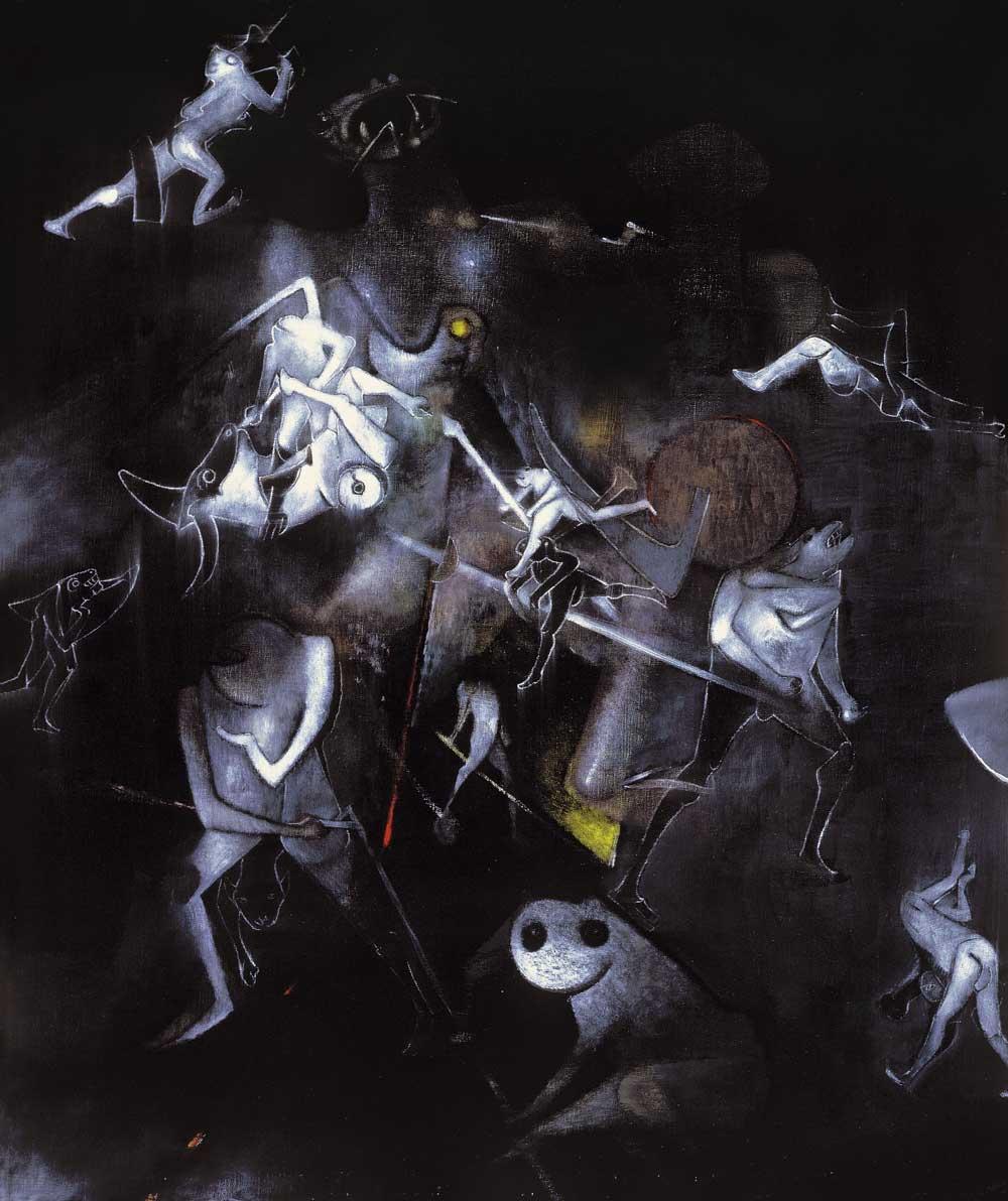 1985 – Ternura – Óleo sobre tela